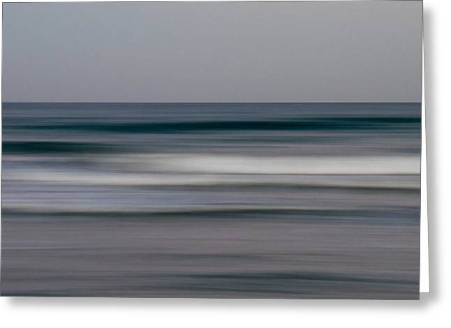 Abstract Style Digital Art Greeting Cards - Sea Greeting Card by Stylianos Kleanthous
