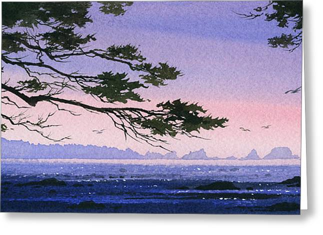 Landscape Framed Prints Greeting Cards - Seacoast Inspiration Greeting Card by James Williamson