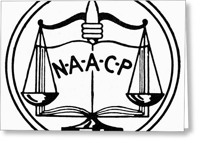 Naacp Greeting Cards - Seal: Naacp Greeting Card by Granger