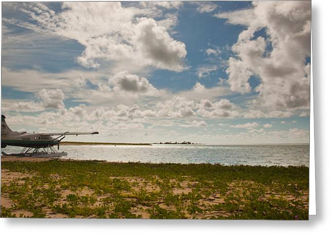 Seaplane Greeting Cards - Seaplane in the Keys Greeting Card by Patrick  Flynn