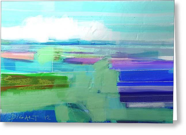 Seascape 1019 Greeting Card by Oridigart