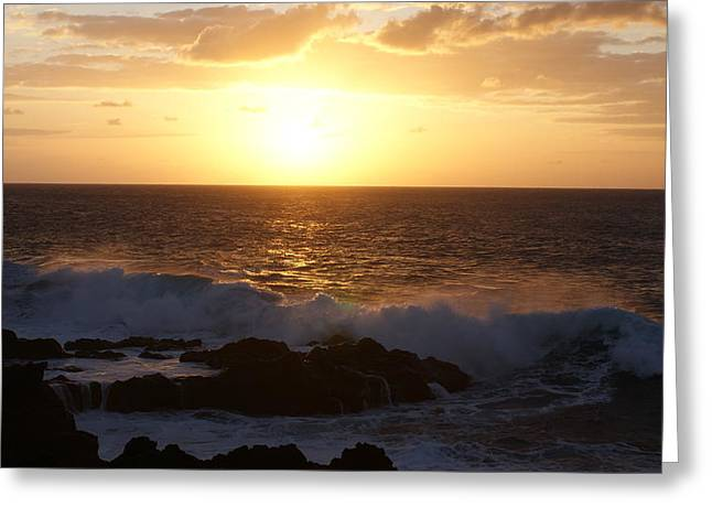Luis And Paula Lopez Greeting Cards - Seascape Greeting Card by Luis and Paula Lopez