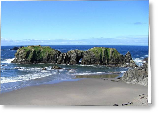 Ocean Vista Greeting Cards - Seascape Supreme Greeting Card by Will Borden