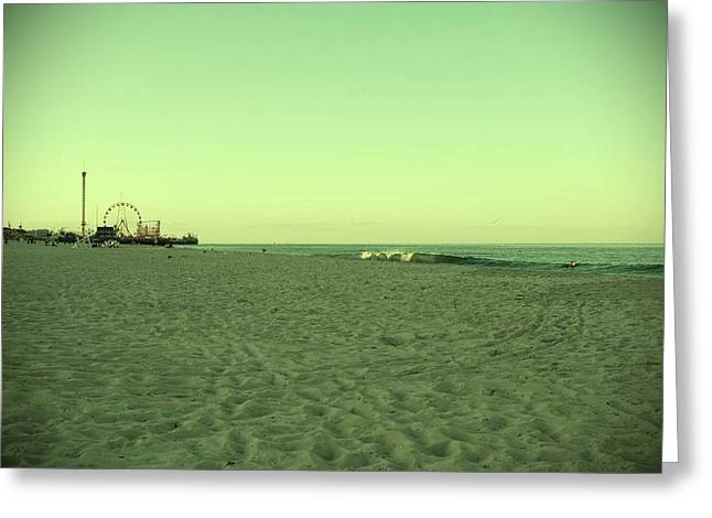 Seaside Park II - Jersey Shore Greeting Card by Angie Tirado