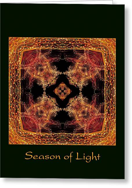 Christmas Art Photographs Greeting Cards - Season of Light 7 Greeting Card by Bell And Todd