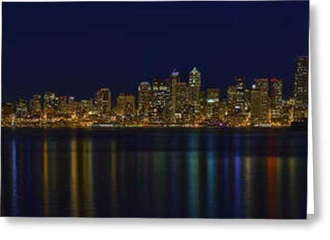 Seattle Framed Prints Greeting Cards - Seattle Moody Blues Greeting Card by James Heckt