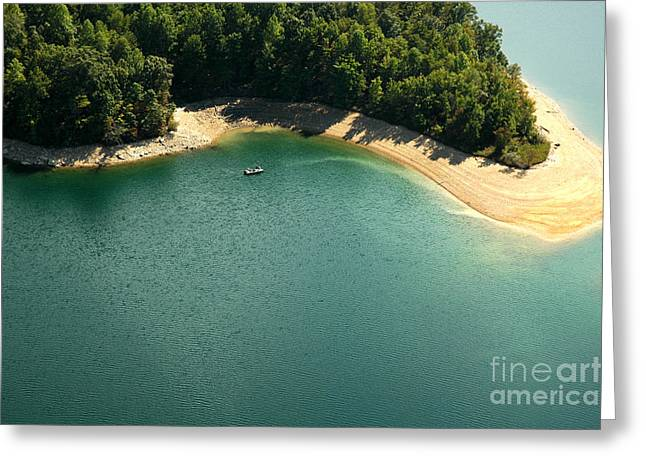 Nicholas Greeting Cards - Secluded Fishing Hole Greeting Card by Thomas R Fletcher