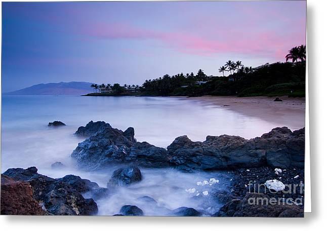 Secrets Greeting Cards - Secret Beach Maui Sunrise 2 Greeting Card by Dustin K Ryan