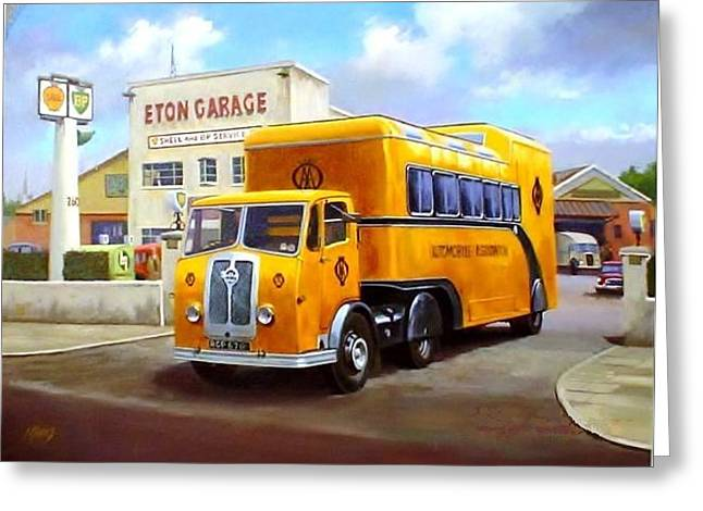 Aa Greeting Cards - Seddon AA unit. Greeting Card by Mike  Jeffries