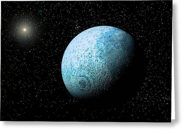 Sedna, Kuiper Belt Object Greeting Card by Christian Darkin