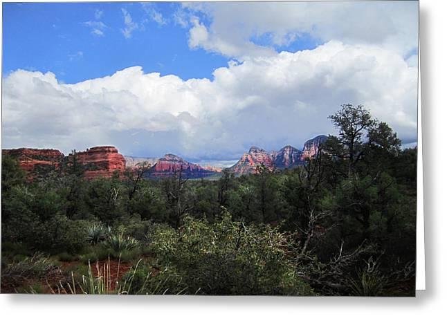 Luminist Greeting Cards - Sedona Arizona Greeting Card by Ric Soulen