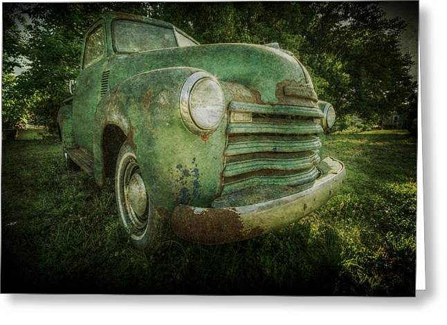Seen Better Days Greeting Card by Christine Annas