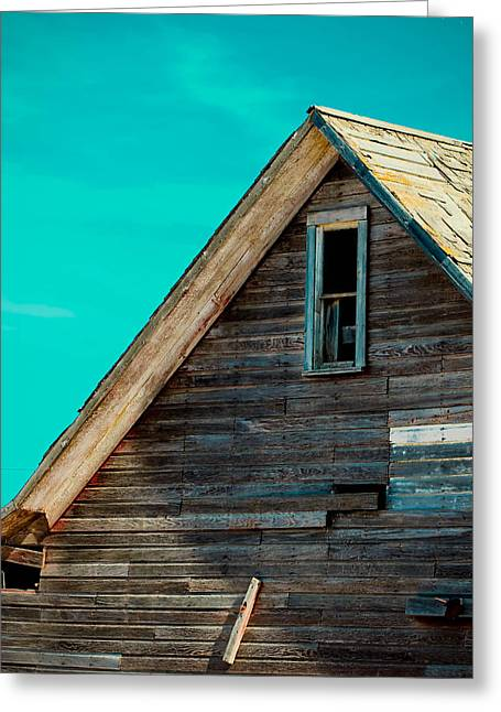 Old House Photographs Greeting Cards - Seen Better Days Greeting Card by Christy Patino