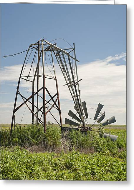 Rural Decay Prints Greeting Cards - Seen Better Days Greeting Card by Melany Sarafis