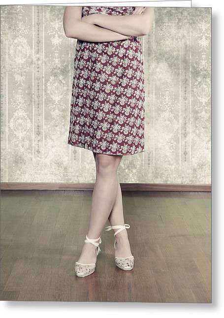 Garment Greeting Cards - Self-confidence Greeting Card by Joana Kruse