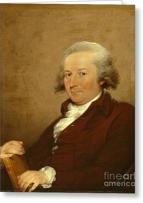1843 Greeting Cards - Self-Portrait Greeting Card by John Trumbull