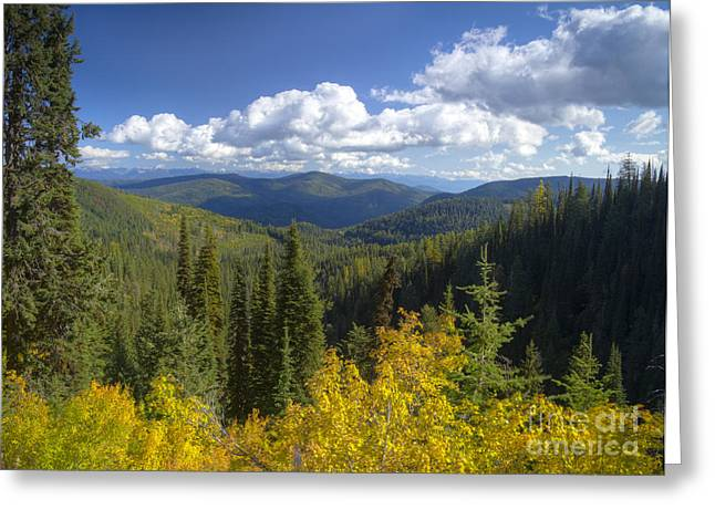 Scenic Idaho Greeting Cards - Selkirk View Greeting Card by Idaho Scenic Images Linda Lantzy