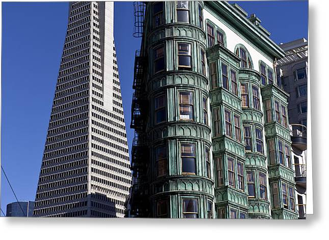 Sentinel Building San Francisco Greeting Card by Garry Gay
