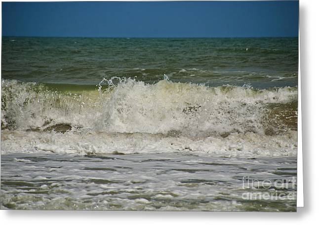 Florida East Coast Greeting Cards - September Beach 2 Greeting Card by Susanne Van Hulst