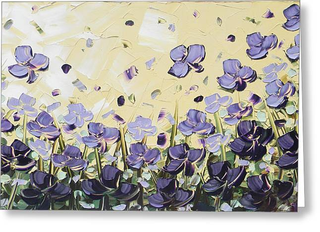 Artist Christine Krainock Greeting Cards - Serenity Greeting Card by Christine Krainock
