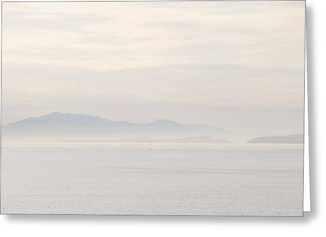 Bc Coast Greeting Cards - Serenity Greeting Card by Peter Olsen