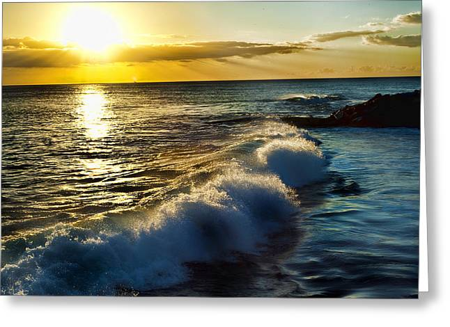 Ko Olina Lagoon Greeting Cards - Serenity Greeting Card by Sheri Bartoszek