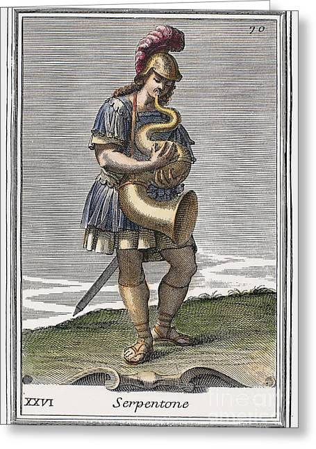 Serpent, 1723 Greeting Card by Granger