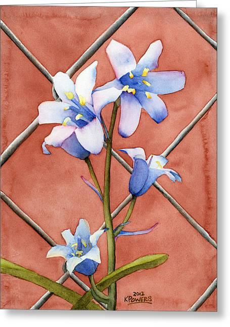 Power Plants Paintings Greeting Cards - Serpentine Greeting Card by Ken Powers