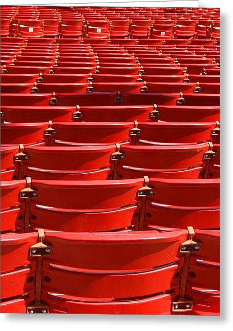 Outdoor Theater Greeting Cards - Serpentine Seating Greeting Card by Eric Gordon