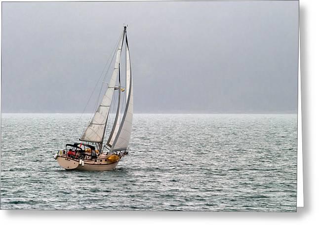 Jason Smith Greeting Cards - Setting Sail Greeting Card by Jason Smith