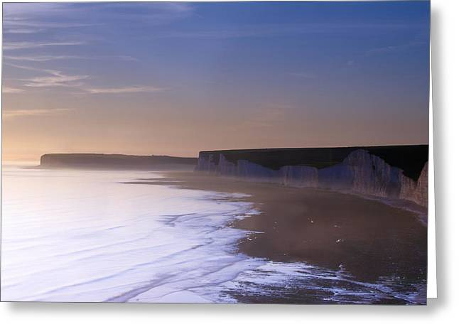 Summer Squall Greeting Cards - Seven Sisters Ghost Coast Greeting Card by Michael Stretton