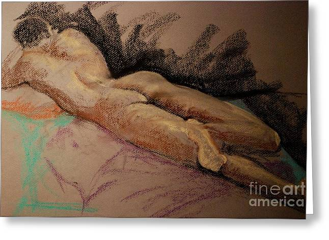 Relaxed Pastels Greeting Cards - Sexy Greeting Card by Joy Bradley