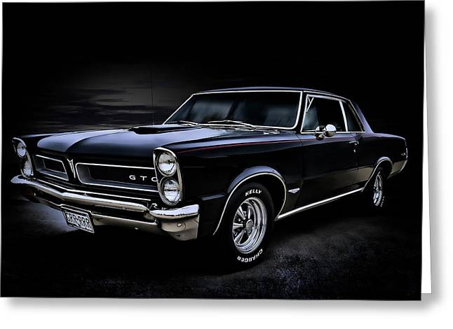 Pontiac Gto Greeting Cards - Shadow Rider Greeting Card by Douglas Pittman