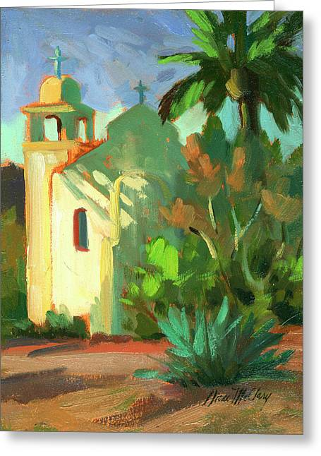 Verbena Greeting Cards - Shadows at St. Richards Greeting Card by Diane McClary
