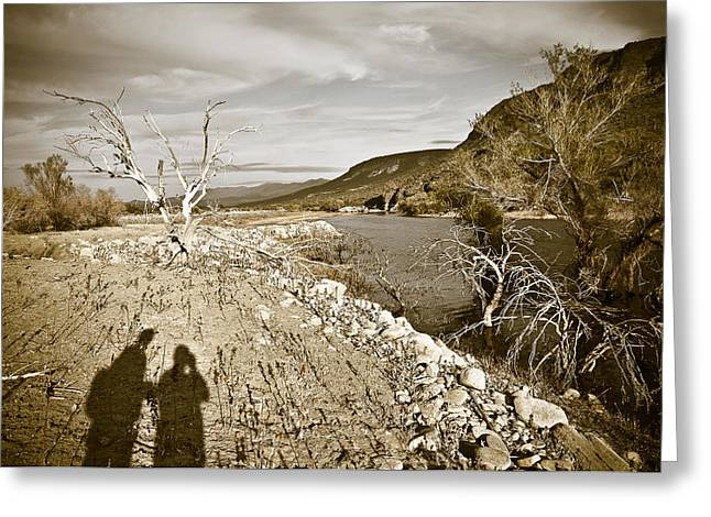 Storm Prints Greeting Cards - Shadows Lurking Greeting Card by Keith Sanders