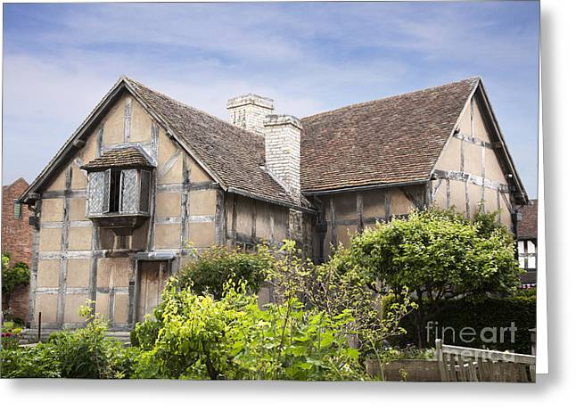 Shakespeare's birthplace. Greeting Card by Jane Rix