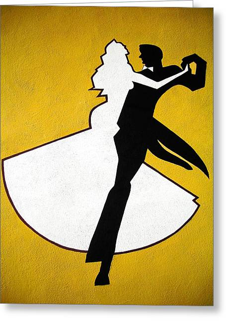 Farbenfroh Greeting Cards - Shall We Dance ... Greeting Card by Juergen Weiss