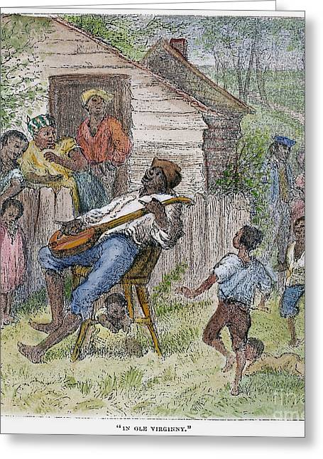 Sharecropper Greeting Cards - Sharecroppers, 1876 Greeting Card by Granger