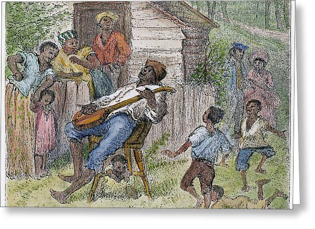 SHARECROPPERS, 1876 Greeting Card by Granger
