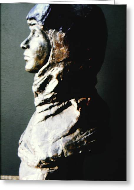 Realism Sculptures Greeting Cards - Sharrinni Greeting Card by Sarah Biondo