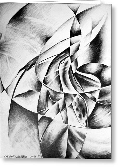Value Greeting Cards - Shattered Values  Greeting Card by Che Hondo