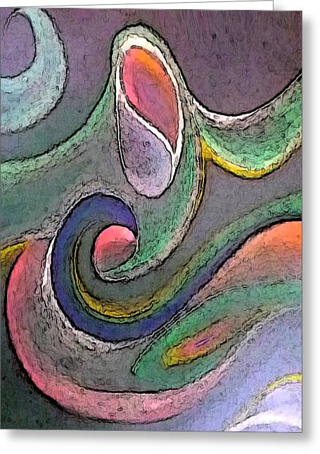 Visionary Artist Greeting Cards - She is the Wind Greeting Card by George  Page