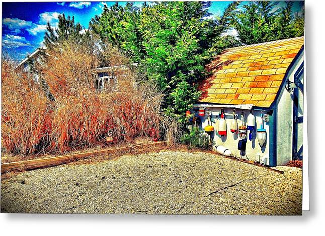 Shed Some Light Greeting Card by Jaclyn Dilling