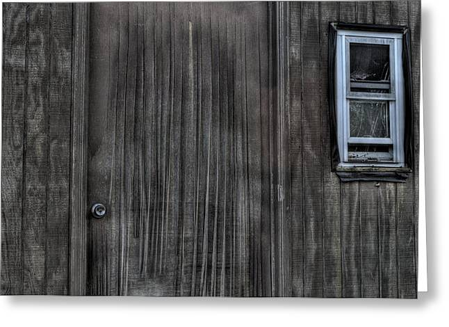 Shed Greeting Cards - Shed Greeting Card by ZawHaus Photography