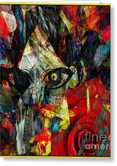 Shed Mixed Media Greeting Cards - Shedding Skin or Memories Greeting Card by Fania Simon