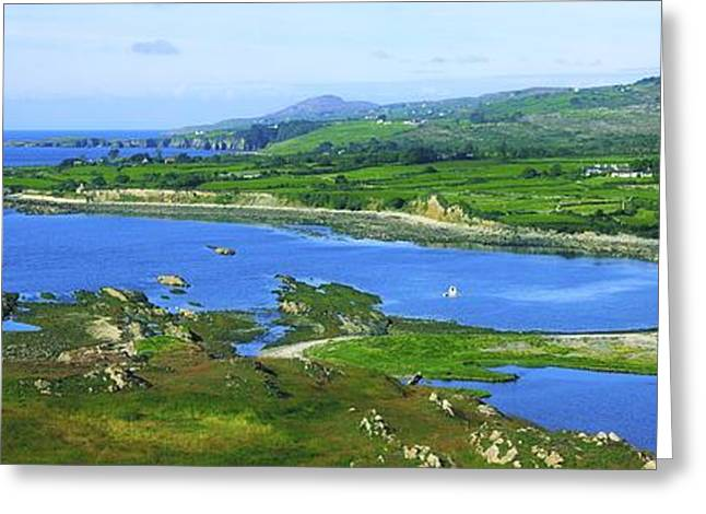 Ocean Panorama Greeting Cards - Sheeps Head, Co Cork, Ireland Headland Greeting Card by The Irish Image Collection