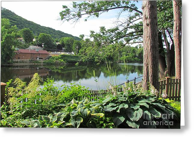 Shelburne Falls Greeting Card by Randi Shenkman