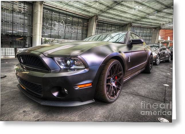 Shelby Gt500kr Greeting Card by Yhun Suarez