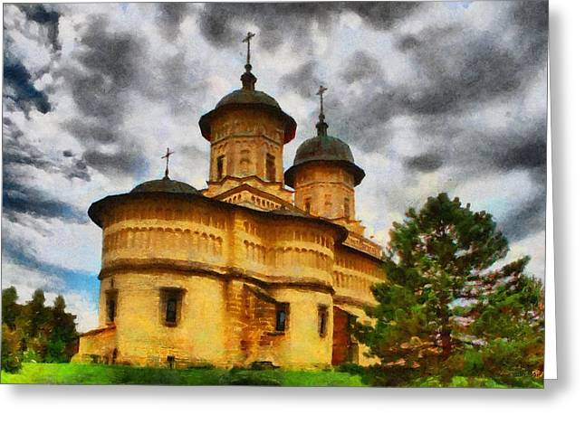 Romania Greeting Cards - Shelter from the Coming Storm Greeting Card by Jeff Kolker
