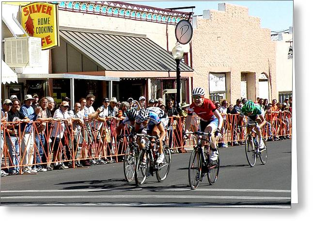 Tour Of The Gila Greeting Cards - Shes Got It Greeting Card by Feva  Fotos